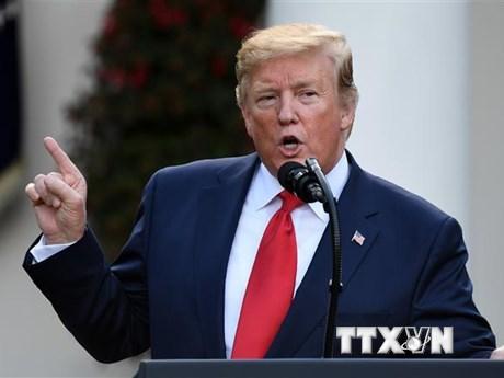 Thượng viện New York 'mở đường' tiếp cận hồ sơ thuế của ông Trump   Châu Mỹ   Vietnam+ (VietnamPlus)
