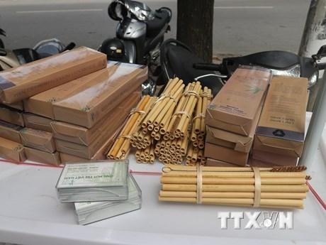 Người đưa những chiếc ống hút bằng tre Việt Nam đến trời Âu | Khoa học ứng dụng | Vietnam+ (VietnamPlus)