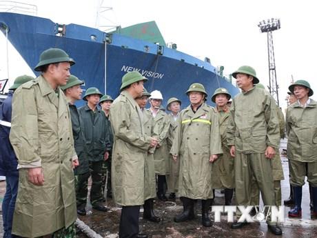 Công tác phòng, chống bão số 3 Wipha tại Quảng Ninh, Tuyên Quang | Xã hội | Vietnam+ (VietnamPlus)