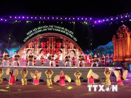 Phú Yên: Khai mạc Ngày hội Văn hóa, Thể thao và Du lịch đồng bào Chăm