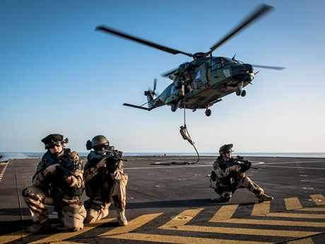 Hải quân Ai Cập và Pháp tập trận chung tại Địa Trung Hải