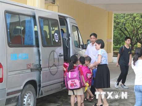Đề nghị Bộ Giao thông Vận tải quy định tiêu chuẩn xe đưa đón học sinh