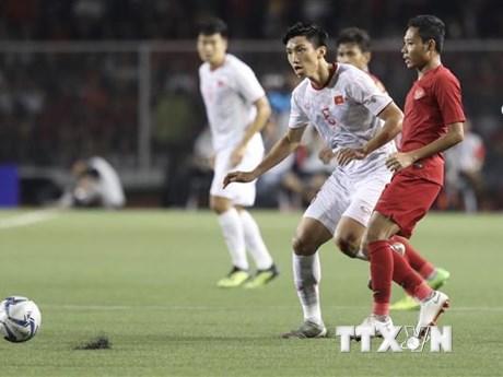 Đoàn Văn Hậu vui mừng sau bàn thắng tuyệt đẹp vào lưới U22 Indonesia | Bóng đá | Vietnam+ (VietnamPlus) - kết quả xổ số đồng tháp