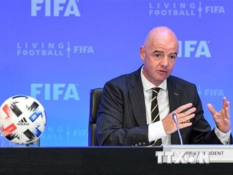 FIFA thông qua khoản cứu trợ 1,5 tỷ USD cho bóng đá thế giới    Bóng đá   Vietnam+ (VietnamPlus)