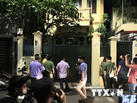 Khám xét chỗ ở và nơi làm việc đối với ông Nguyễn Đức Chung