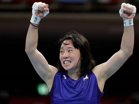 Nữ võ sỹ quyền Anh Nhật Bản đầu tiên giành huy chương Vàng Olympic