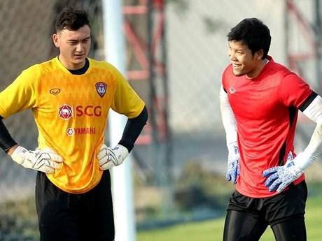 Thủ thành số 1 đội tuyển Thái Lan háo hức đối đầu Đặng Văn Lâm | Bóng đá | Vietnam+ (VietnamPlus)