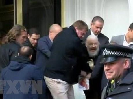 Bộ Nội vụ Anh chấp thuận yêu cầu dẫn độ nhà sáng lập WikiLeaks sang Mỹ | Đời sống | Vietnam+ (VietnamPlus)