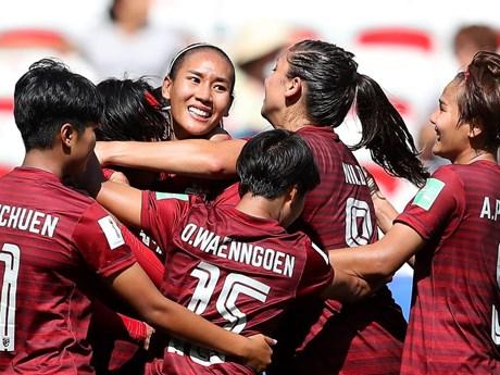 World Cup nữ 2019: Thái Lan lại thảm bại, Nhật Bản vào vòng 1/8 | Bóng đá | Vietnam+ (VietnamPlus)