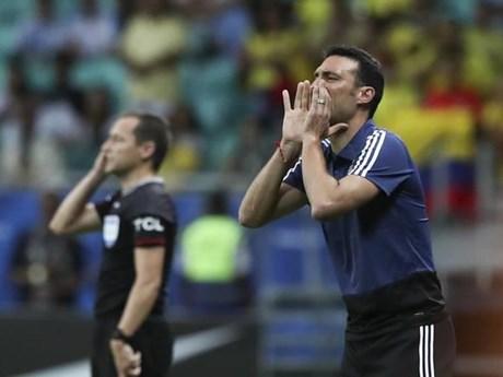 HLV Scaloni tin tưởng cơ hội đi tiếp của đội tuyển Argentina   Bóng đá   Vietnam+ (VietnamPlus)