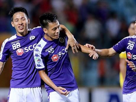 Hạ Ceres Negros, Hà Nội FC thẳng tiến vào chung kết AFC Cup | Bóng đá | Vietnam+ (VietnamPlus)