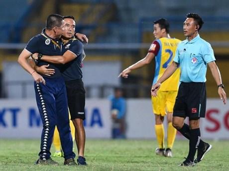 HLV Chu Đình Nghiêm bị cấm chỉ đạo trận Hà Nội FC-HAGL | Bóng đá | Vietnam+ (VietnamPlus)