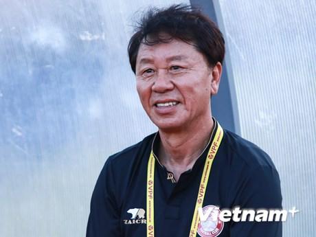 ''Thuyền trưởng'' TP.HCM: Tôi chưa thể quen lịch thi đấu V-League | Bóng đá | Vietnam+ (VietnamPlus)