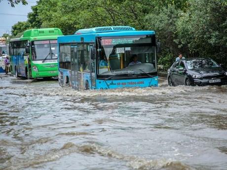 Cận cảnh 'thiên đường' ở Thủ đô ngập úng sau cơn mưa lớn do bão số 3 | Xã hội | Vietnam+ (VietnamPlus)