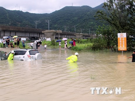 Trung Quốc: Gần 13 triệu người bị ảnh hưởng do bão Lekima | Đời sống | Vietnam+ (VietnamPlus)