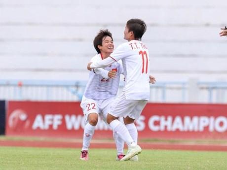 Ngược dòng hạ Philippines, tuyển nữ Việt Nam thẳng tiến chung kết | Bóng đá | Vietnam+ (VietnamPlus)