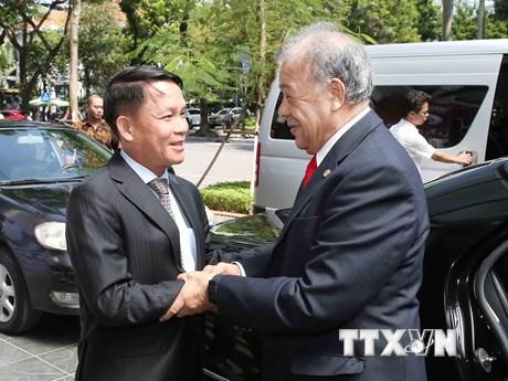 Tổng giám đốc TTXVN tiếp Tổng Bí thư Đảng Lao động Mexico | Chính trị | Vietnam+ (VietnamPlus)