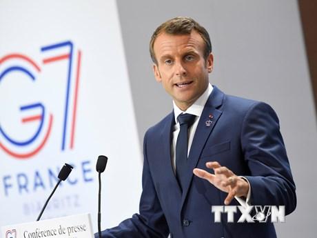 Tổng thống Pháp và Iran điện đàm bàn về hồ sơ hạt nhân | Trung Đông | Vietnam+ (VietnamPlus)