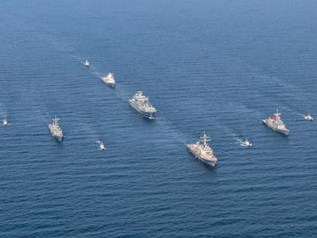 40 tàu chiến tham gia cuộc tập trận của NATO tại Biển Baltic | Châu Âu | Vietnam+ (VietnamPlus)
