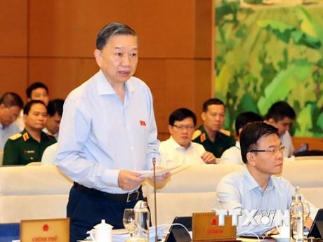Phiên họp 37 UBTVQH khóa XIV: Giảm nhiều loại tội phạm nghiêm trọng | Chính trị | Vietnam+ (VietnamPlus)