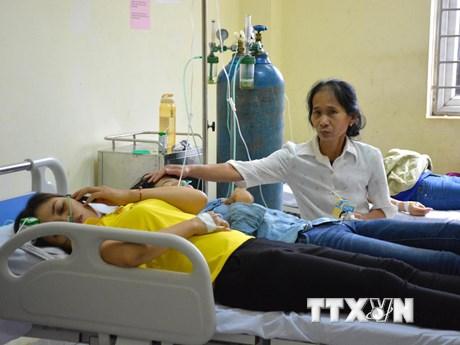 Xác định nguyên nhân vụ ngộ độc khí ở Công ty Golden Victory Việt Nam | Y tế | Vietnam+ (VietnamPlus)