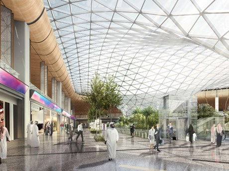 Qatar mở rộng sân bay quốc tế Hamad phục vụ World Cup 2022 | Du lịch | Vietnam+ (VietnamPlus)