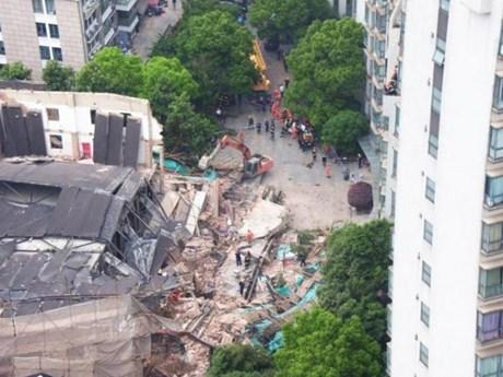 Số người mắc kẹt trong vụ sập hầm mỏ polymetallic ở Trung Quốc tăng   Đời sống   Vietnam+ (VietnamPlus)