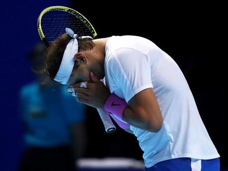 Rafael Nadal 'nếm trái đắng' ngay trận ra quân ATP Finals 2019   Quần vợt   Vietnam+ (VietnamPlus)