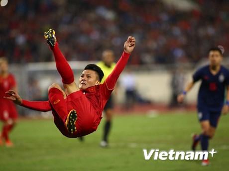 Hòa Thái Lan, đội tuyển Việt Nam vẫn chắc ngôi đầu bảng   Bóng đá   Vietnam+ (VietnamPlus)