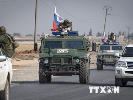 Nga triển khai thêm cảnh sát quân sự tới miền Bắc Syria | Trung Đông | Vietnam+ (VietnamPlus)