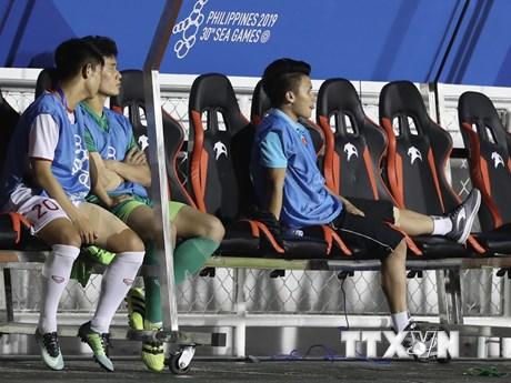 Bác sĩ Trần Anh Tuấn: Quang Hải không thể tiếp tục thi đấu SEA Games    Bóng đá   Vietnam+ (VietnamPlus)