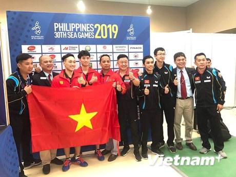 SEA Games 30 ngày 7/12: Bóng bàn và Judo liên tiếp giành HCV | Thể thao | Vietnam+ (VietnamPlus)