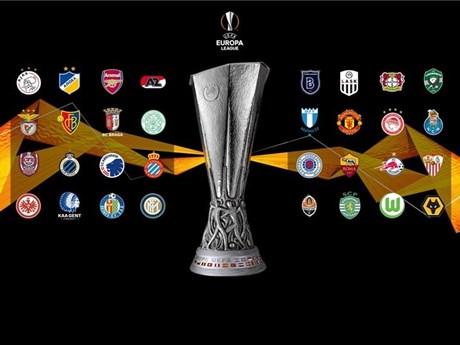 Xác định xong 32 đội bóng góp mặt tại vòng 1/16 Europa League | Bóng đá | Vietnam+ (VietnamPlus)