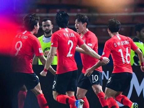 U23 Hàn Quốc vào bán kết sau chiến thắng nghẹt thở trước U23 Jordan | Bóng đá | Vietnam+ (VietnamPlus)