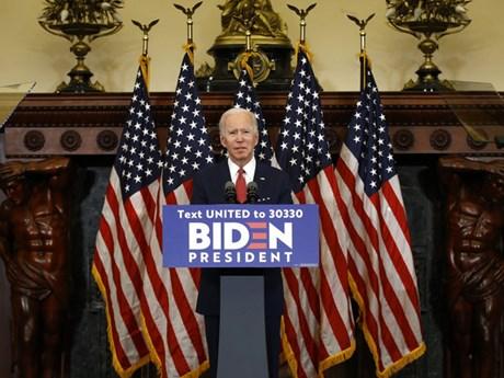 Bầu cử Mỹ 2020: Ông Biden tiếp tục vượt qua Tổng thống Trump | Châu Mỹ | Vietnam+ (VietnamPlus)