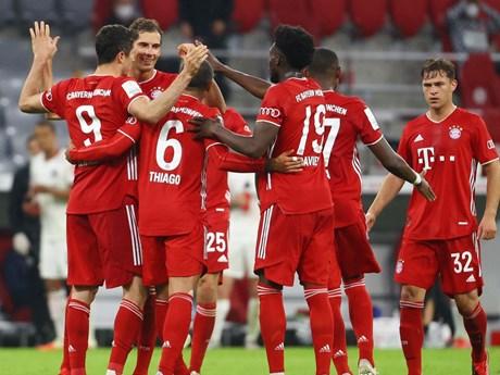 Bayern Munich san bằng kỷ lục ghi bàn tồn tại suốt 47 năm qua | Bóng đá | Vietnam+ (VietnamPlus)