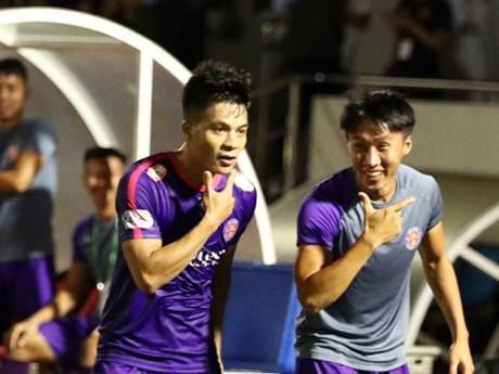 Thắng đậm Thanh Hóa, Sài Gòn FC trở lại ngôi đầu V-League | Bóng đá | Vietnam+ (VietnamPlus)