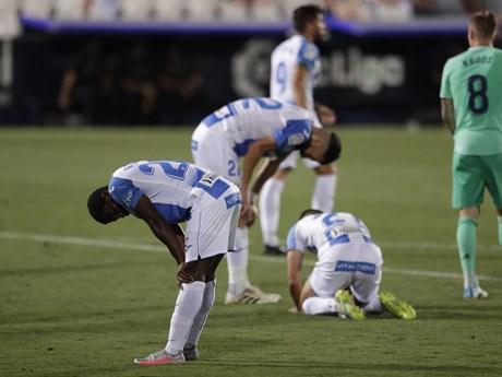 La Liga hạ màn: Real tiễn Leganes xuống hạng, Barcelona thắng hủy diệt | Bóng đá | Vietnam+ (VietnamPlus)