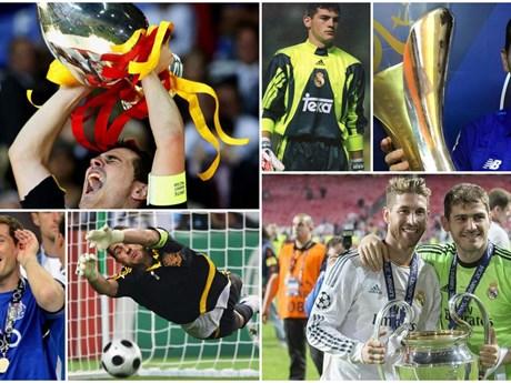 10 khoảng khắc đáng nhớ trong sự nghiệp của Iker Casillas