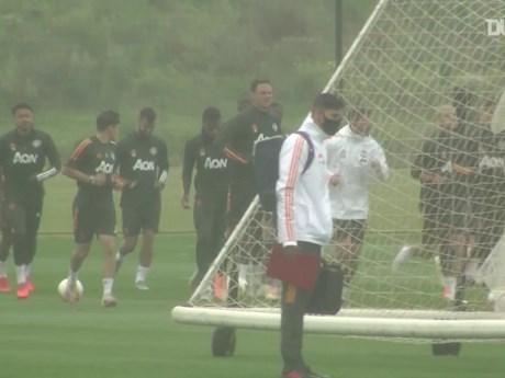 Manchester United thoải mái tập luyện trước trận tái đấu LASK ...