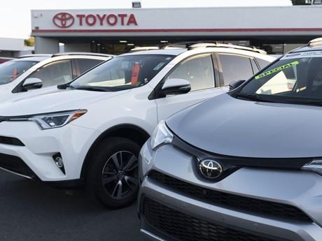 Sản lượng ôtô trong tháng Tám của Toyota, Honda, Nissan đều sụt giảm