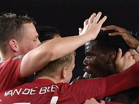 M.U và Man City thẳng tiến vào vòng tứ kết Cúp Liên đoàn Anh
