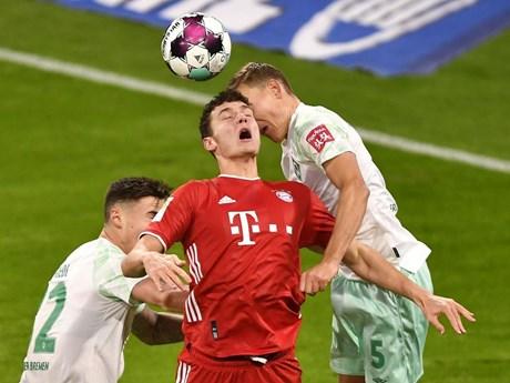 Bayern lần đầu không thắng Bremen sau 10 năm, Haaland lập 'poker'
