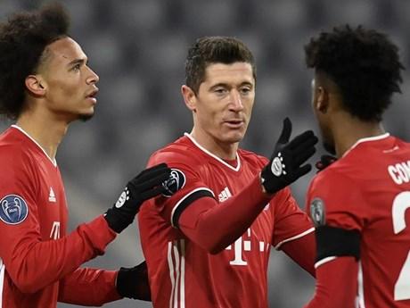Champions League: Bayern và Man City giành vé vào vòng 1/8