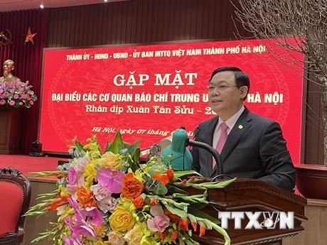 Bí thư Thành ủy Hà Nội: Không có hạn chế đối với thông tin báo chí