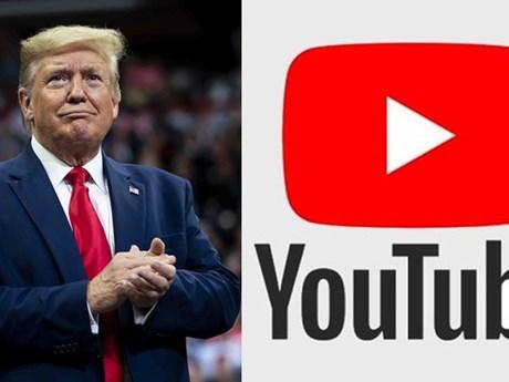 YouTube nêu điều kiện khôi phục tài khoản của ông Trump