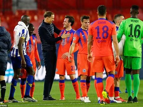 Hình ảnh đáng nhớ trong trận thắng của Chelsea trước Porto