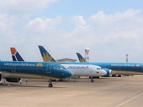 Nhiều tàu bay Việt Nam phải 'đắp chiếu' do ảnh hưởng của dịch COVID-19