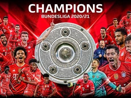 Bayern Munich lần thứ 9 liên tiếp lên ngôi tại Bundesliga - xs thứ hai