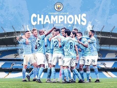 M.U bại trận, Manchester City chính thức đăng quang Premier League